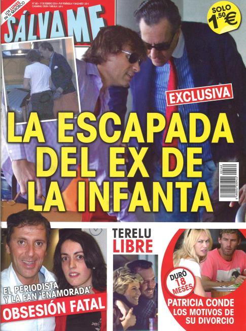 SALVAME portada 10 de Febrero 2014
