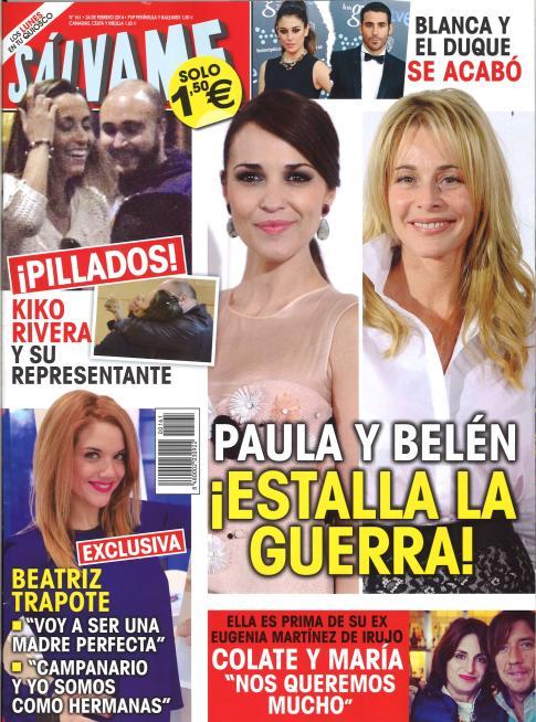 SALVAME portada 17 de Febrero 2014