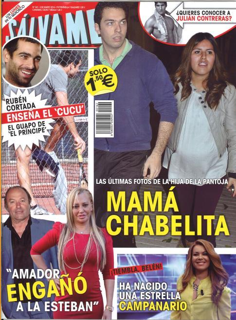 SALVAME portada 24 de Febrero 2014