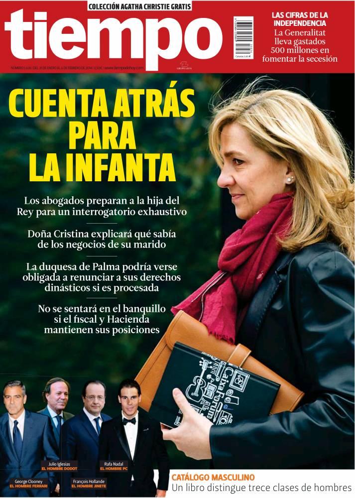 TIEMPO portada 02 de Febrero 2014