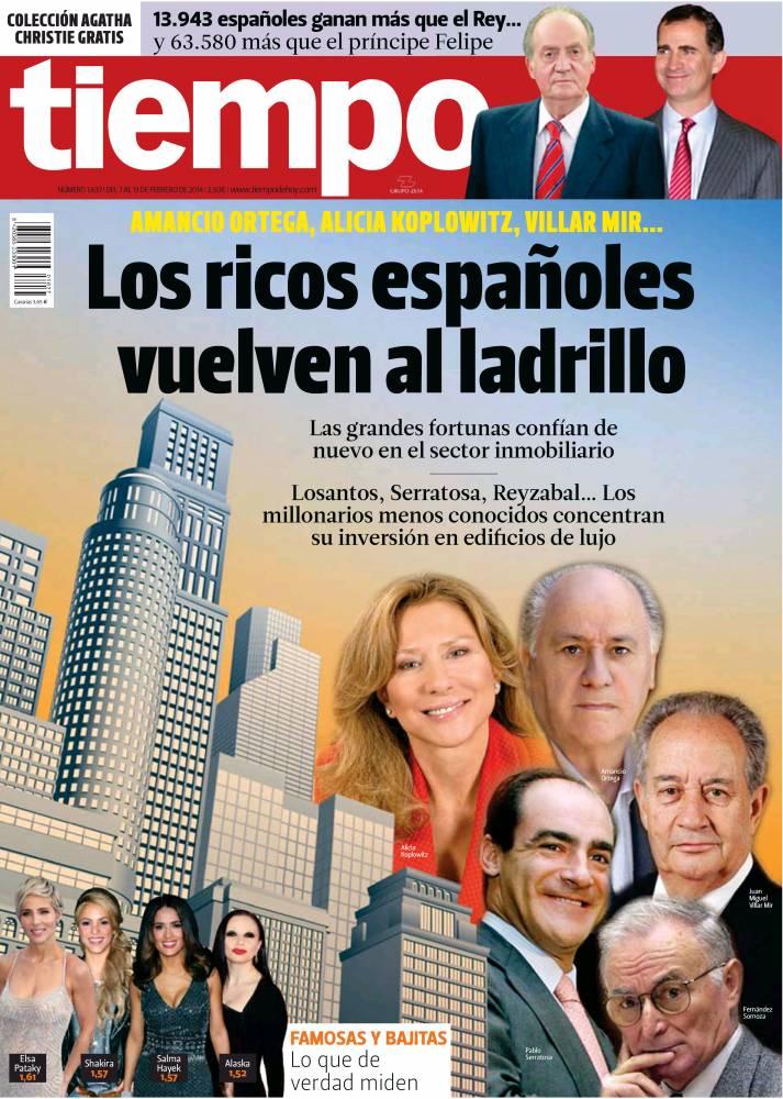 TIEMPO portada 9 de Febrero 2014