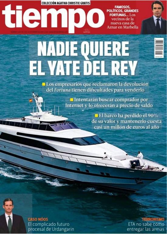 TIEMPO portada 16 de Febrero 2014