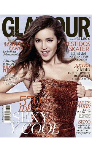 GLAMOUR portada Abril 2014
