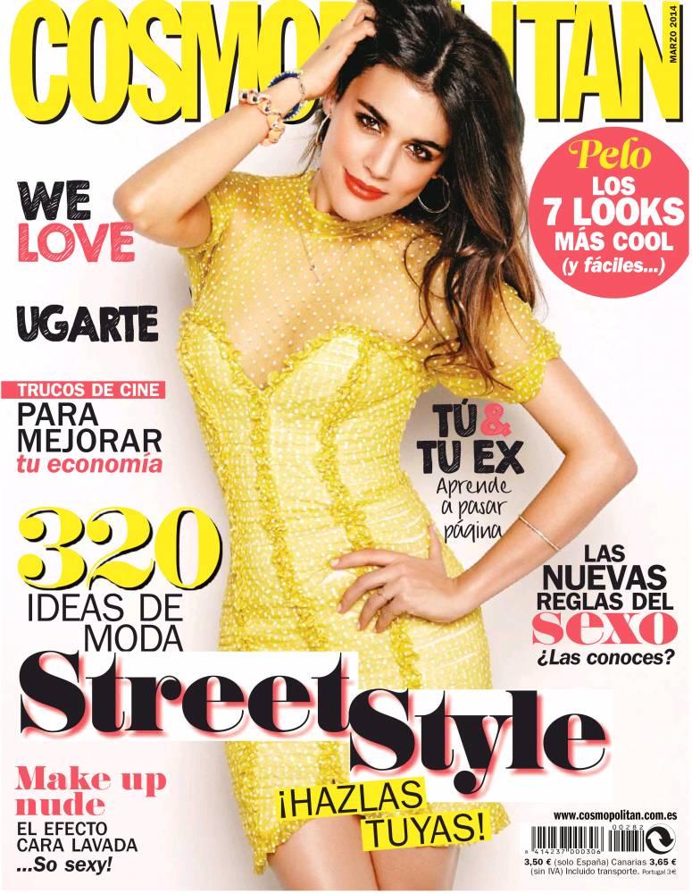 COSMOPOLITAN portada Marzo 2014