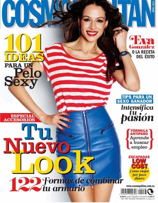 COSMOPOLITAN portada Abril 2014