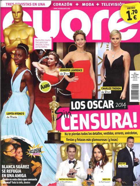 CUORE portada 5 de Marzo 2014