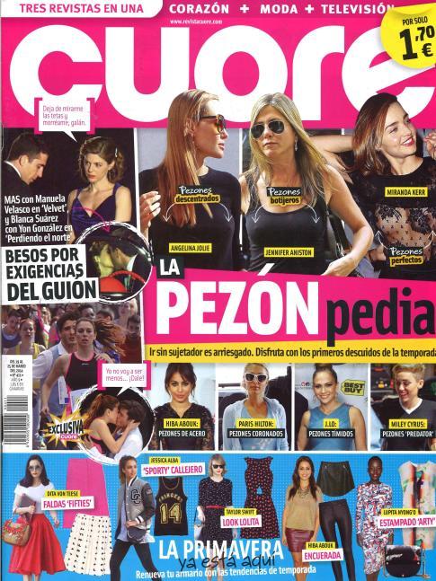 CUORE portada 19 de Marzo 2014
