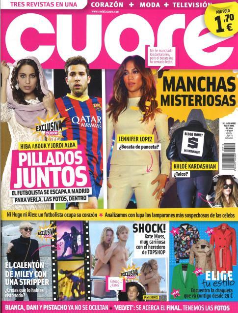 CUORE portada 26 de Marzo 2014
