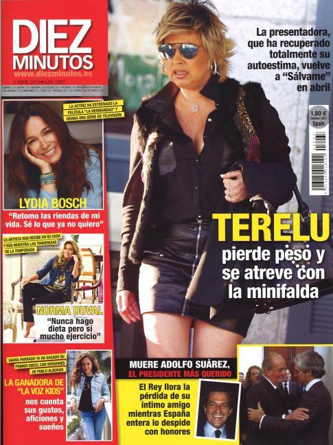 DIEZ MINUTOS portada 26 de Marzo 2014