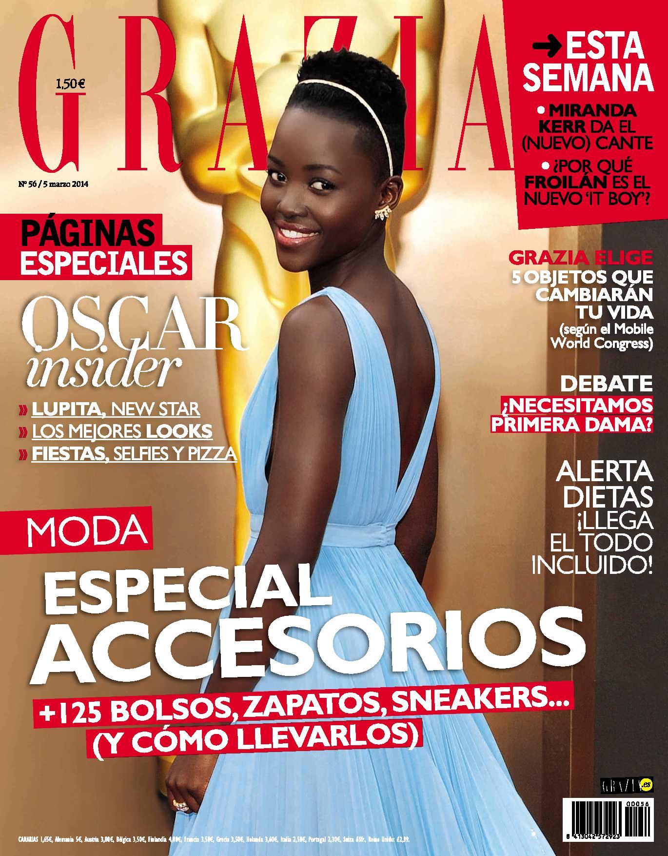 GRAZIA portada 5 de Marzo 2014