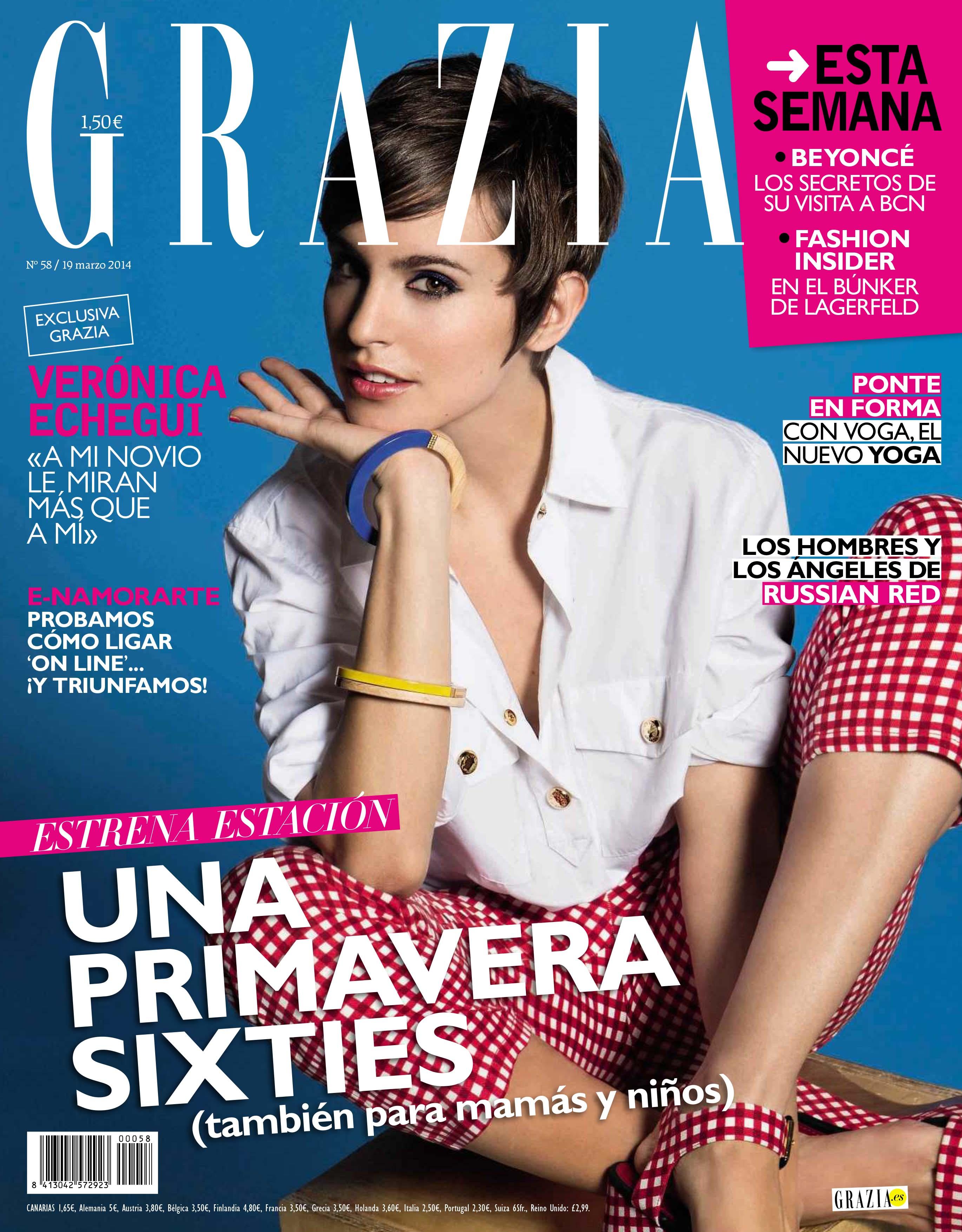 GRAZIA portada 19 de Marzo 2014