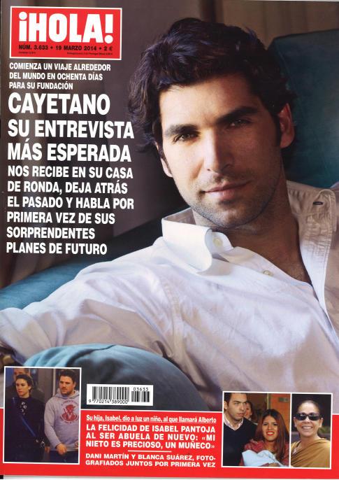 HOLA portada 12 de Marzo 2014