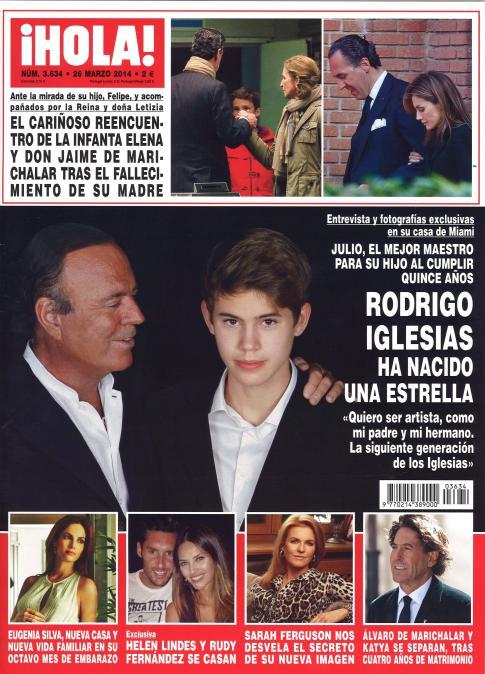 HOLA portada 19 de Marzo 2014