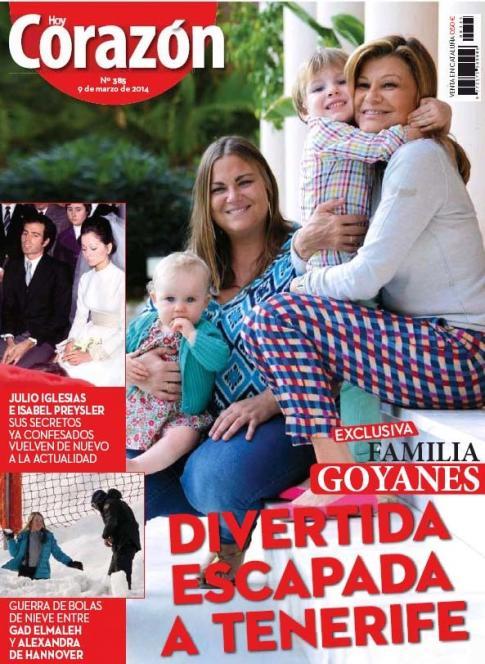 HOY CORAZON portada 09 de Marzo 2014