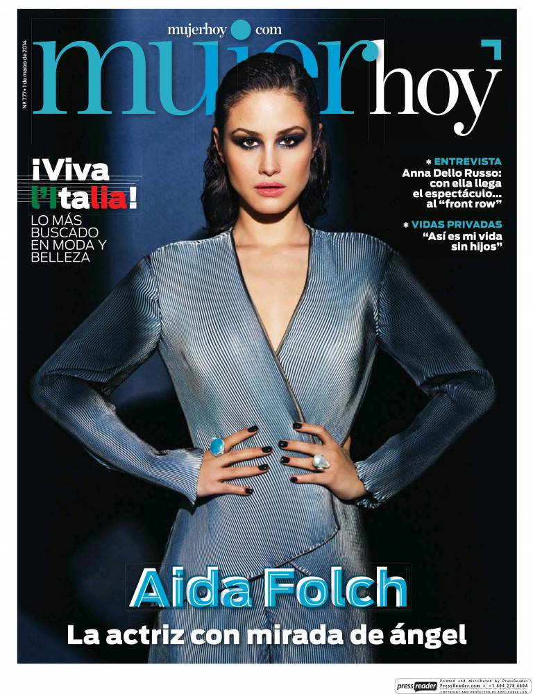 MUJER HOY portada 2 de Marzo 2014