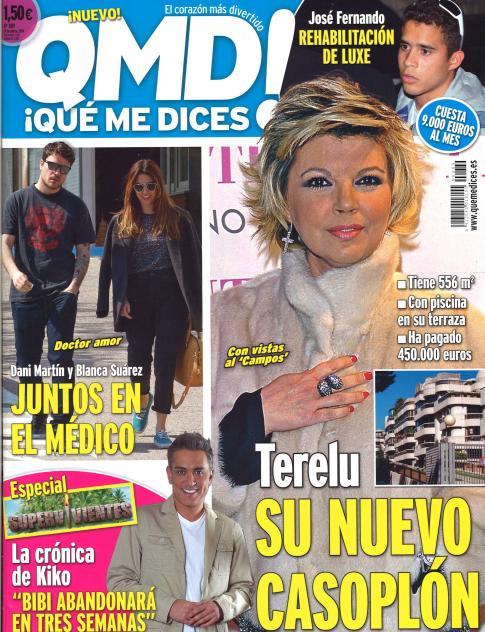 QUE ME DICES portada 24 de Marzo 2014