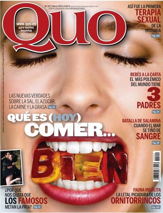QUO portada Marzo 2014
