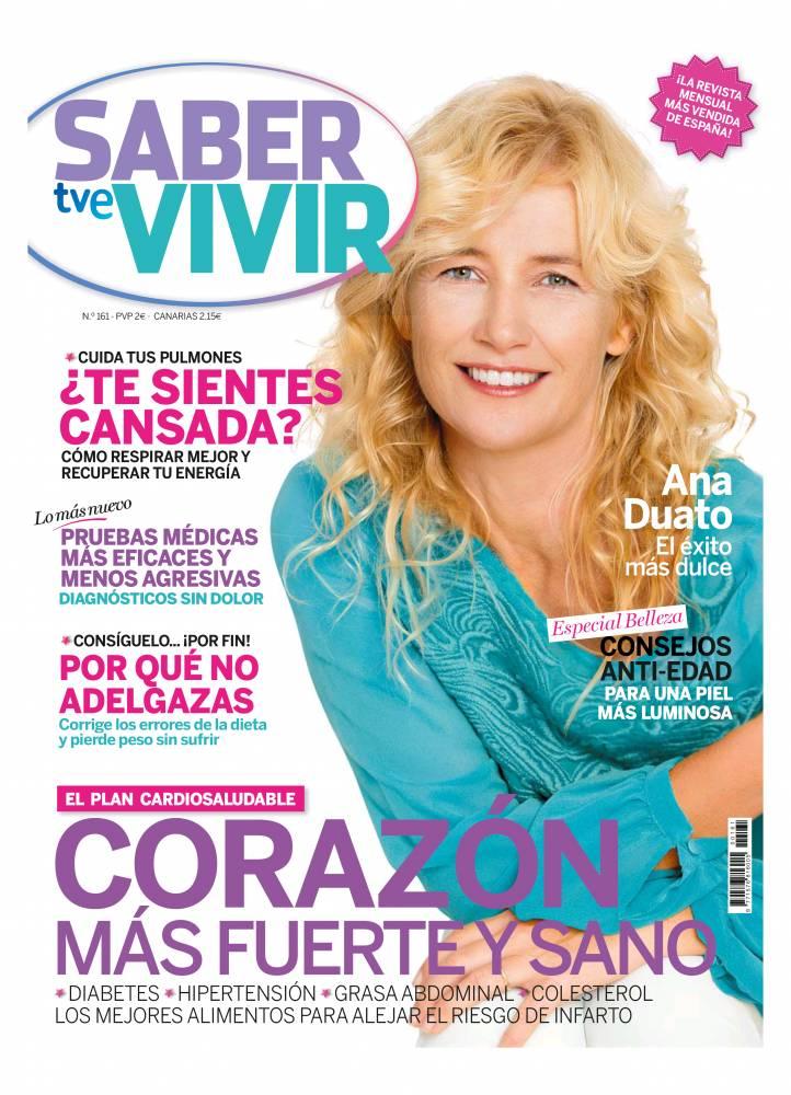 SABER VIVIR portada Marzo 2014