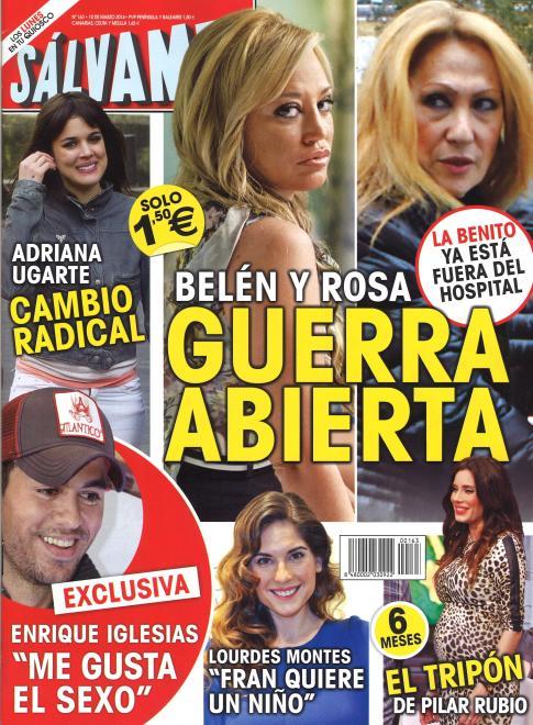 SALVAME portada 3 de Marzo 2014