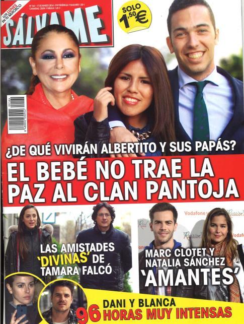 SALVAME portada 10 de Marzo 2014