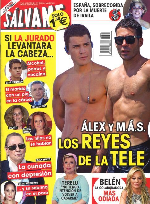 SALVAME portada 17 de Marzo 2014