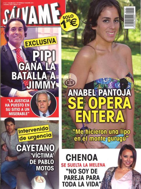 SALVAME portada 31 de Marzo 2014
