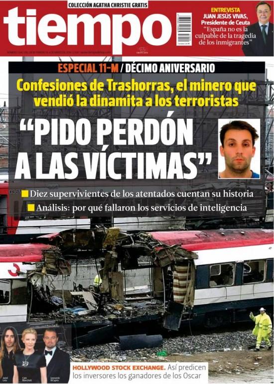 TIEMPO portada 02 de Marzo 2014