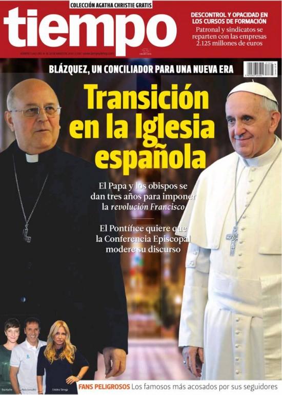 TIEMPO portada 16 de Marzo 2014