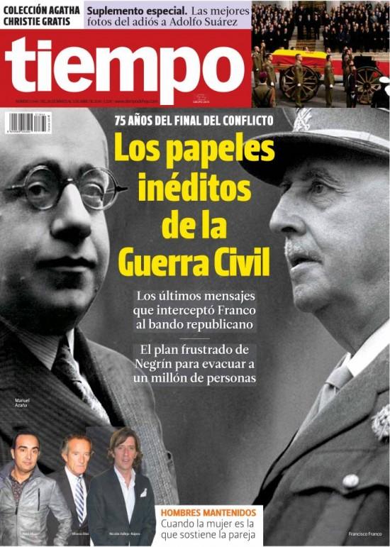 TIEMPO portada 30 de Marzo 2014