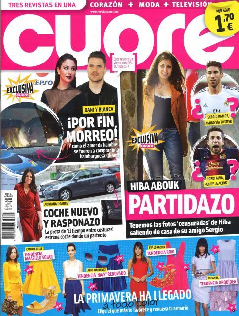 CUORE portada 9 de Abril 2014