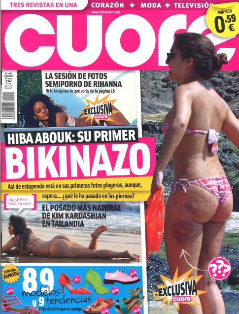 CUORE portada 16 de Abril 2014