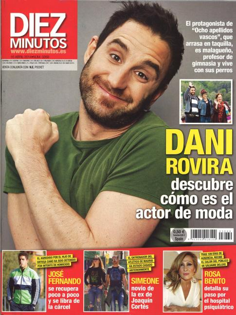 DIEZ MINUTOS portada 9 de Abril 2014
