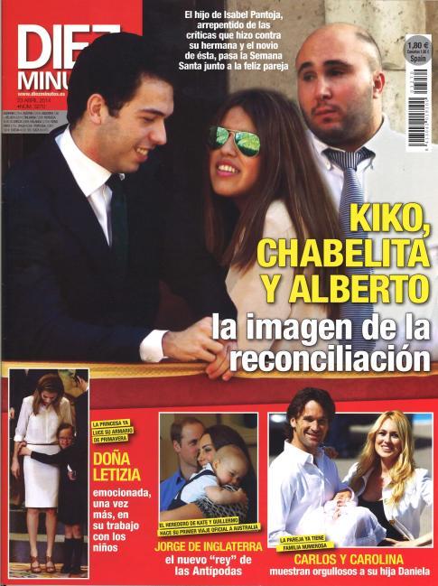 DIEZ MINUTOS portada 16 de Abril 2014