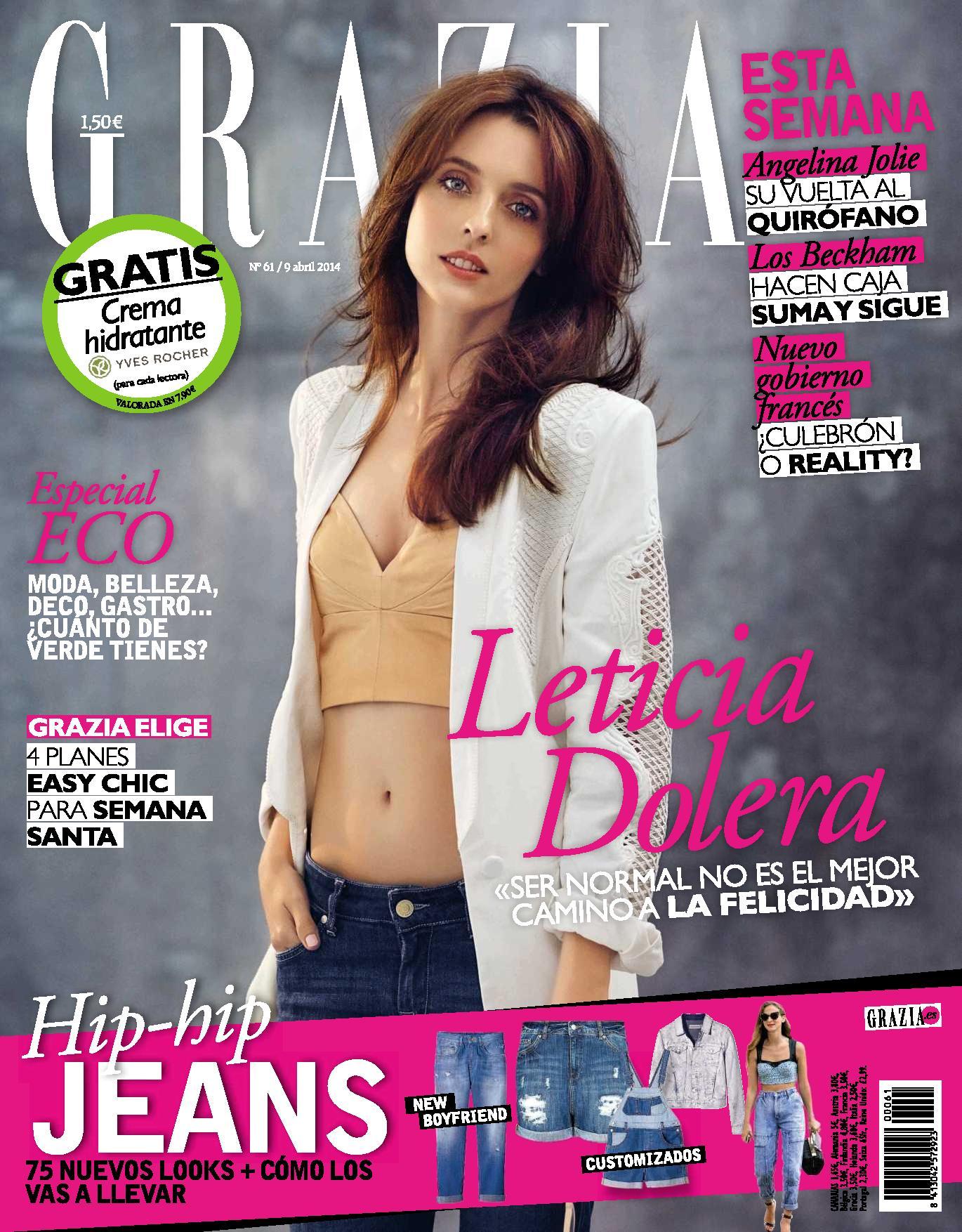 GRAZIA portada 9 de Abril 2014