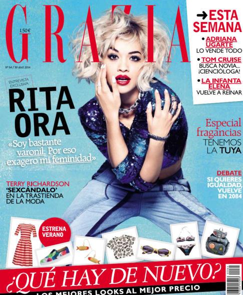GRAZIA portada 30 de Abril 2014