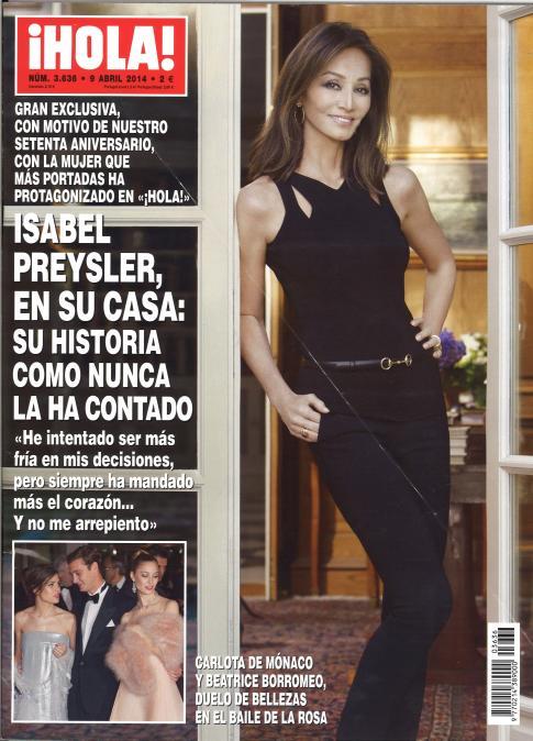 HOLA portada 2 de Abril 2014