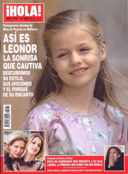 HOLA portada 23 de Abril 2014