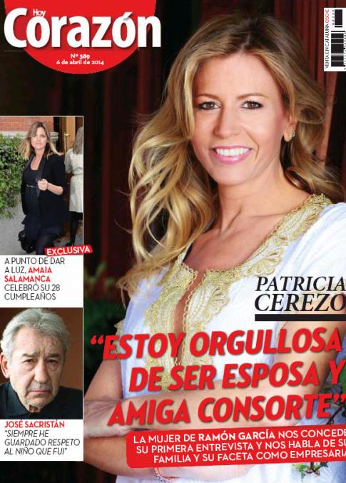 HOY CORAZON portada 7 de Abril 2014