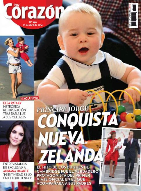 HOY CORAZON portada 14 de Abril 2014