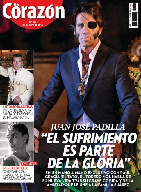 HOY CORAZON portada 21 de Abril 2014