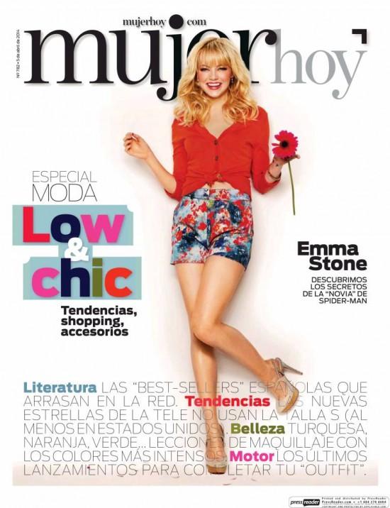 MUJER HOY portada 6 de Abril 2014