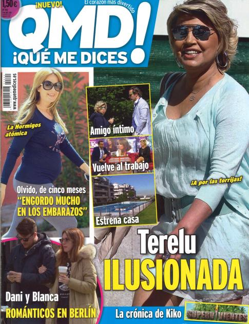 QUE ME DICES portada 14 de Abril 2014