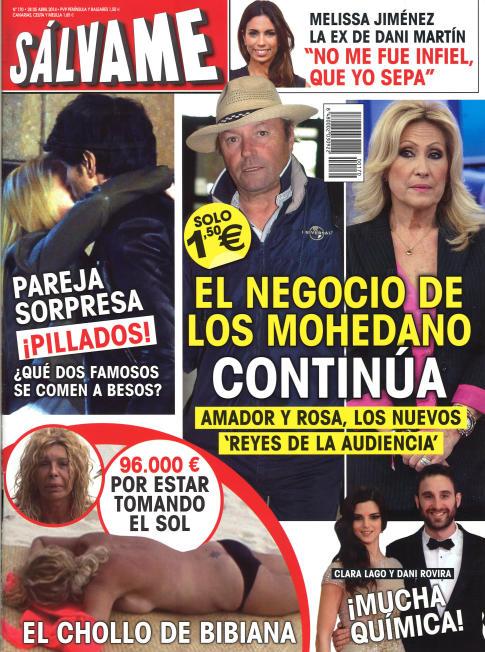 SALVAME portada 21 de Abril 2014