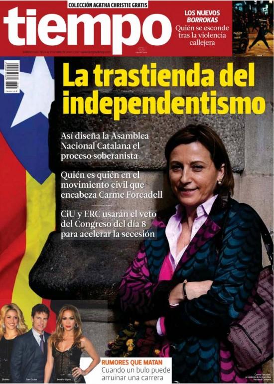 TIEMPO portada 6 de Abril 2014