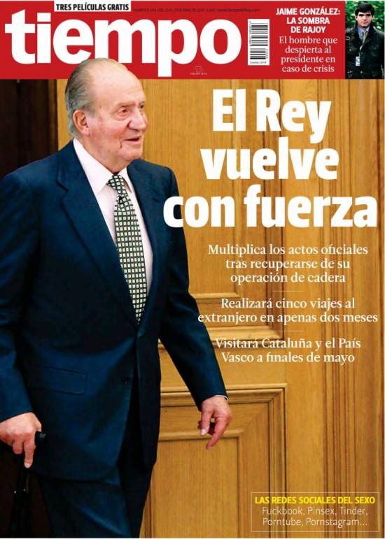 TIEMPO portada 27 de Abril 2014