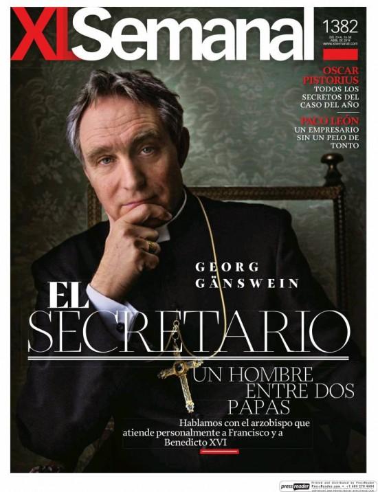 XL SEMANAL portada 20 de Abril 2014
