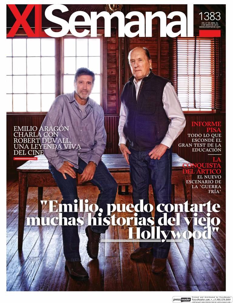XL SEMANAL portada 27 de Abril 2014