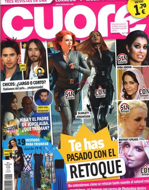 CUORE portada 7 de Mayo 2014