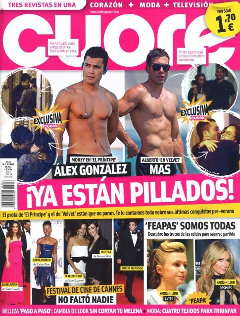 CUORE portada 21 de Mayo 2014