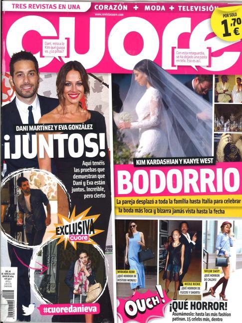 CUORE portada 28 de Mayo 2014